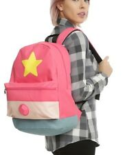 Steven Universe Steven Rubber Rose Quartz Gem School Book Bag Backpack Gift NWT!