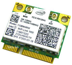 New-OEM-HP-572520-001-Intel-WiFi-Link-1000-112BNHMW-bgn-Half-60Y3202-60Y3203