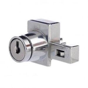 LOCK-FOCUS-R-H-Sliding-Glass-Showcase-Display-Cabinet-Lock-FREE-POST-07351451