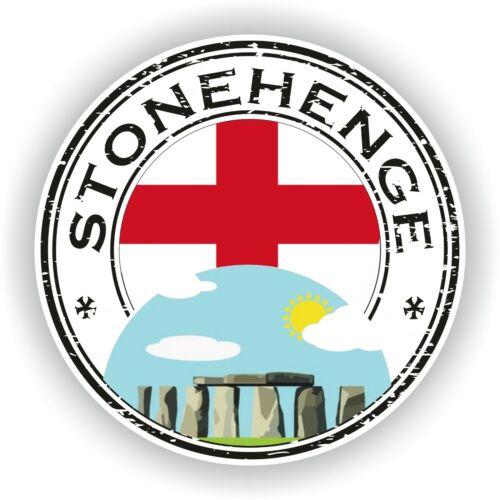 Sticker von Stonehenge England Stempel Stoßstange Scheibe Laptop Auto
