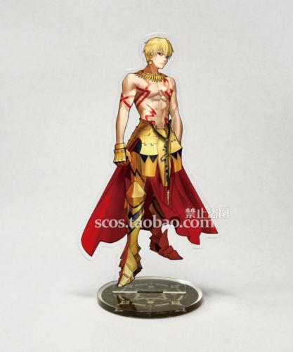 Fate Grand Order FGO Arturia Gilgamesh Attila Etzel Nero Acrylic Stand Figure