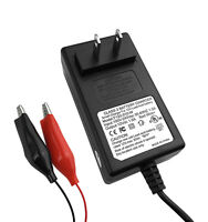 1a Amp Sla 12v Smart Battery Charger / Maintainer With Alligator Clips