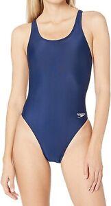 Speedo-Womens-Swimwear-Navy-Blue-30-ProLT-Super-Pro-Racerback-Swimsuit-39-819