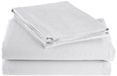 """Bettwäsche Bettwaren, -wäsche & Matratzen Offizielle Website Baumwolle Angepasst Blatt Voll 8.5 """" Tasche ~ Weiß Blut NäHren Und Geist Einstellen"""