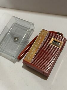 VINTAGE BINATONE RADIO  AM(MW)- BAND FROM THE 1960S-+Case