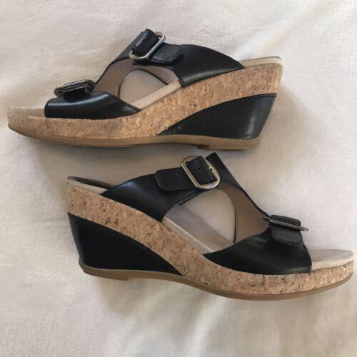 Dansko Carla Wedge Sandal Size 38/US Size 7.5-8