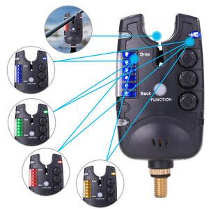 LED Fishing Bite Alarm Indicator Adjustable Tone Volume Carp Fishing Tackle H1