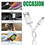 miniature 10 - 5 Pack USB Fast Charger Cable Charging Cord 3/6Ft For iPhone 12 11 8 7 6 Plus Xs