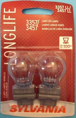 Osram Sylvania 3357//3457 Long Life Lamps2 Lamps12.8//14V 29.4//8.3W