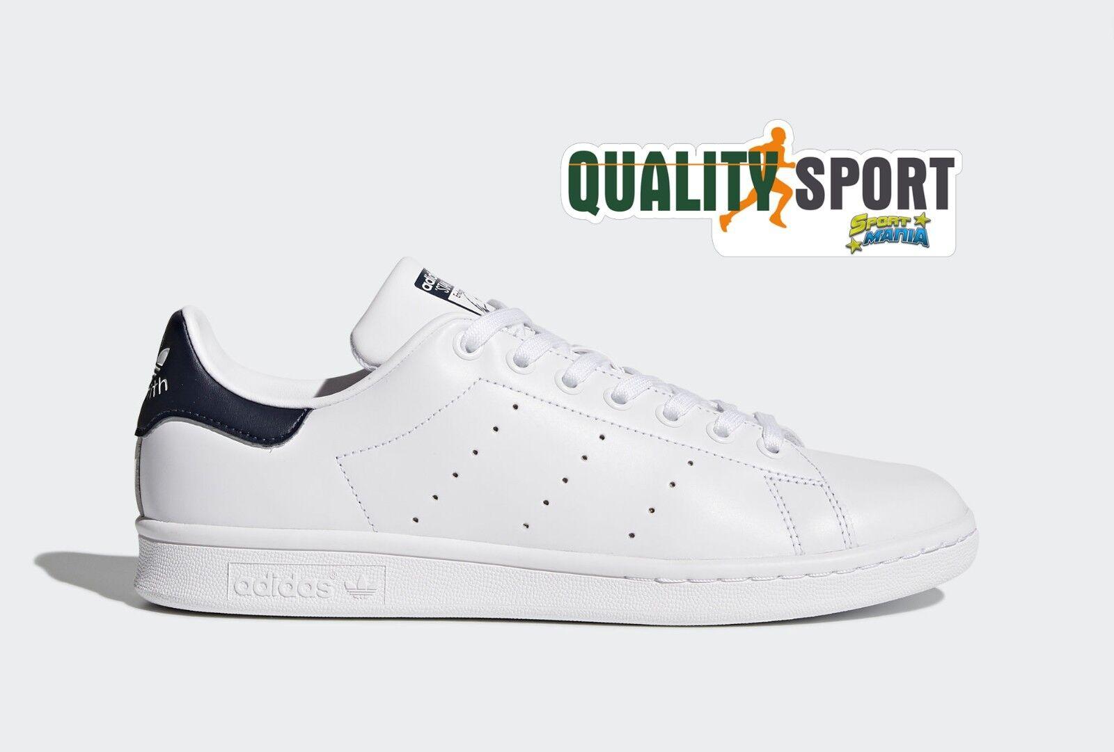 Adidas Stan Smith Bianco Blu Scarpe Shoes Uomo Sportive Sneakers M20325 2018