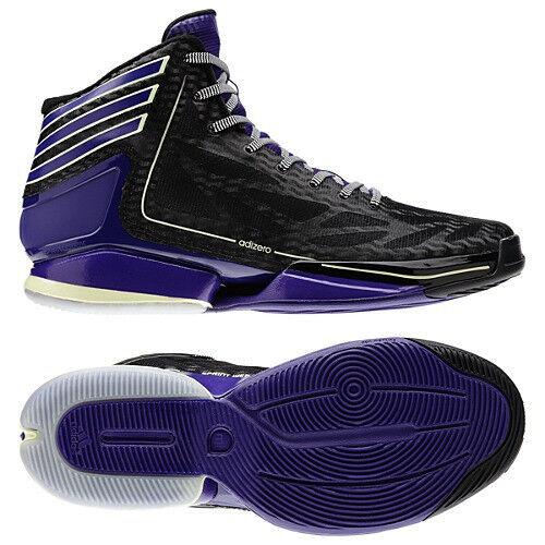 Adidas ADIZERO CRAZY LIGHT 2 NIGHTMARE B4 XMAS GloW in DarK shoes pinkMen sz 7.5