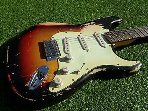 Image Is Loading DY Guitars John Frusciante Tribute Relic Strat Guitar
