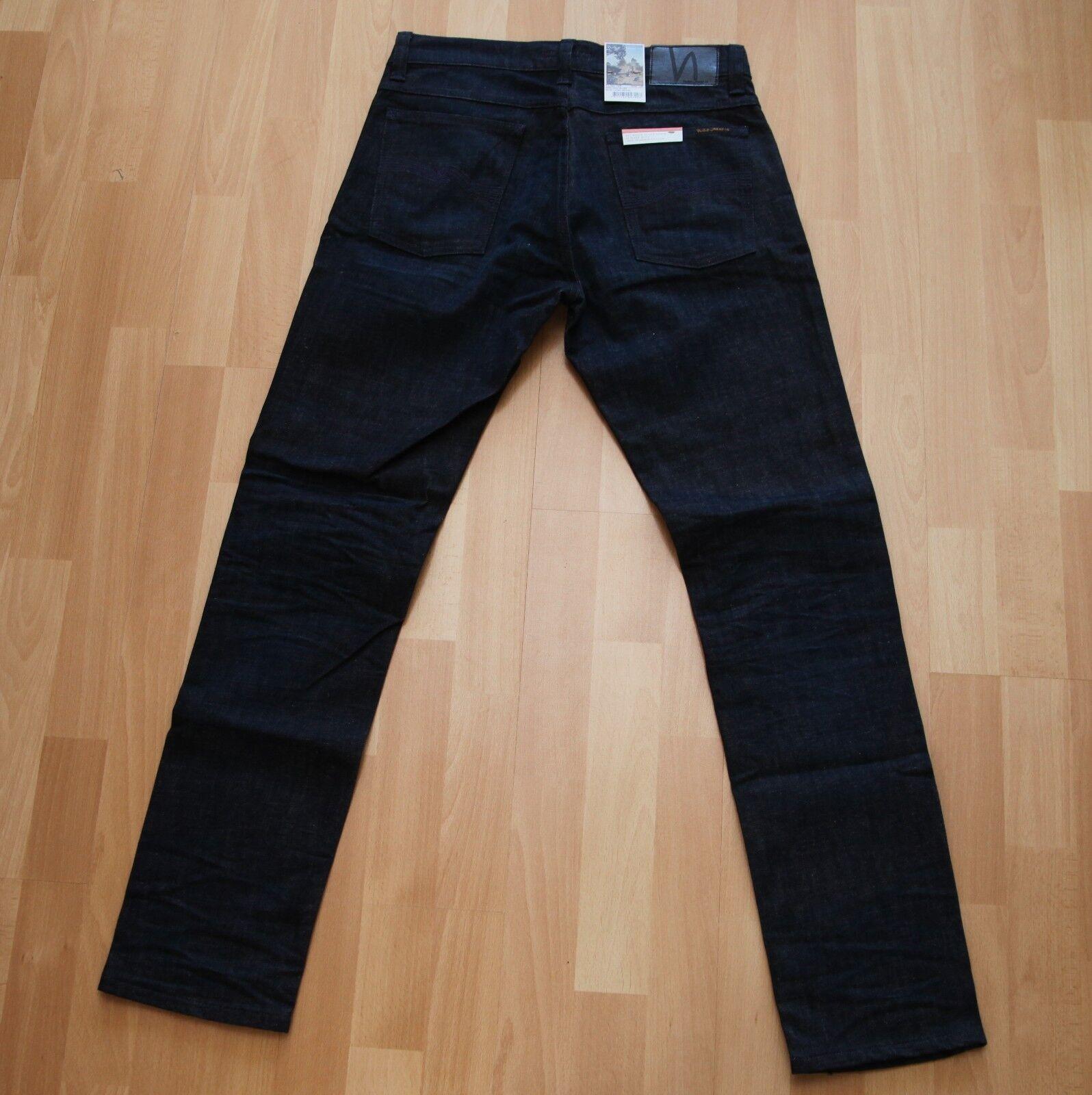 NEU Nudie Jeans TILTED TOR TOR TOR (Tight Fit) Dark Navy Blaus 32 32    Sorgfältig ausgewählte Materialien    Garantiere Qualität und Quantität    Erschwinglich  f40d13