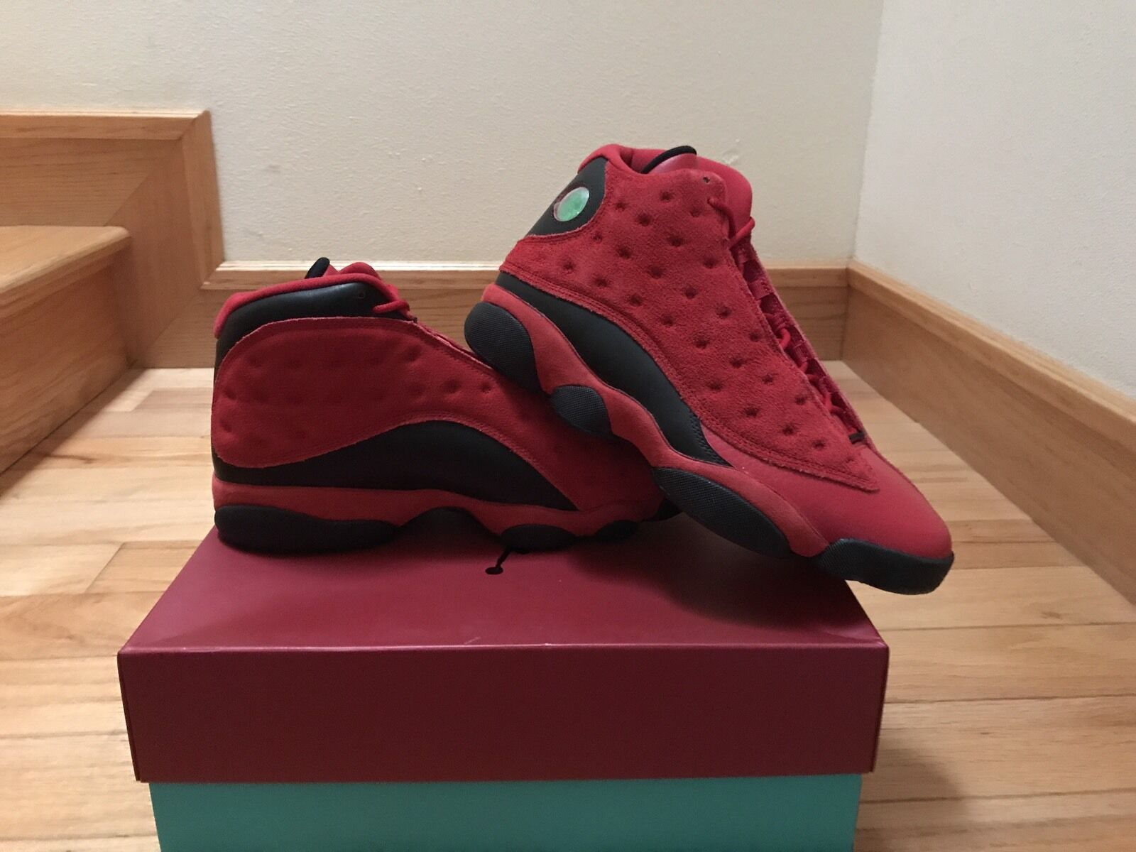 NIKE AIR JORDAN JORDAN JORDAN 13 RETRO CHINESE SINGLES DAY 888164-601 SIZE 9.5 WHAT IS LOVE e891e3