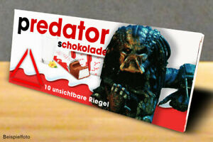 Für Kinderschokolade StäRkung Von Sehnen Und Knochen motiv 2 Humorvoll 3x Aufkleber Predator geschenk, Gadget