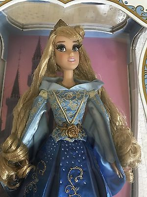"Disney Store Sleeping Beauty Limited Edition Aurora Blue Dress 17"" Doll LE 4000"