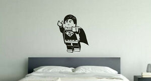 Lego Superman Marvel Children039s Bedroom Nursery Decal Wall Art Sticker Picture - <span itemprop=availableAtOrFrom>Southend-on-Sea, United Kingdom</span> - Returns accepted for damaged goods onlu Most purchases from business sellers are protected by the Consumer Contract Regulations 2013 which give you the right to cancel the purchas - Southend-on-Sea, United Kingdom