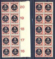 NEDERLAND # PORT 66 ( 20 x) ** PF -VARIETEIT -MET OPDRUK  STERK NAAR LINKS -