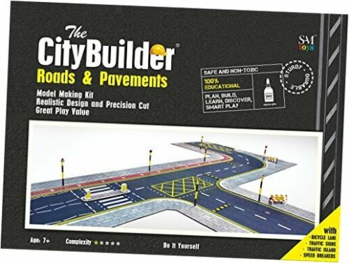 O Scale Model Railroad Roads /& PAVEMENTS Cardboard Model Layout Kit