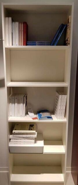 Ikea Gersby Etagere A Livres En Blanc 60x180cm Etagere Verticale De Salon Achetez Sur Ebay