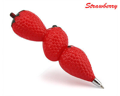 Pretty Fruit Vegetable Shaped Pen Refrigerator Vogue ball point pen TOAU