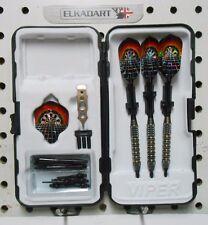 Elkadart Darts 18 gm Orbital Soft Tip Dart Set W/Dart Board Flights + 50 Tips