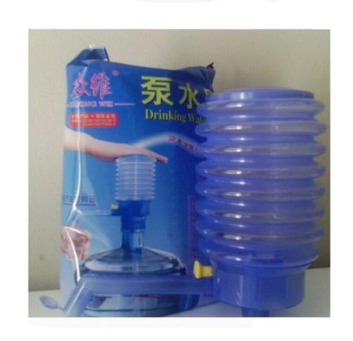 5 Gallon Drinking Water Jug Bottle Pump Manual Dispenser for Home School GA