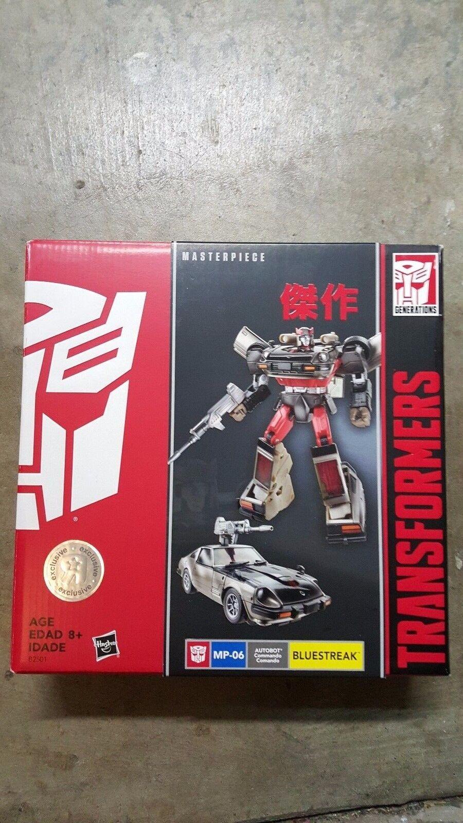 Brand New Transformers Masterpiece blueestreak Hasbro Toys R Us Exclusive MP-06