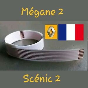1-Nappe-FFC-contacteur-tournant-cable-airbag-RENAULT-Megane-2-Scenic-2