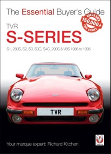 TVR S-series S1 280S S2 S3 S3C the essential buyers guide car book 1986-1996