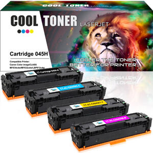 4-Pack-for-Canon-045H-Toner-Set-for-Canon-ImageClass-MF634Cdw-MF632Cdw-LBP612Cdw
