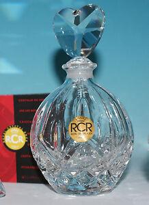 Vintage Cristallo Rcr Cuorei Profumi Con Tappo Regalo Per Bottiglia SpzMVGUq