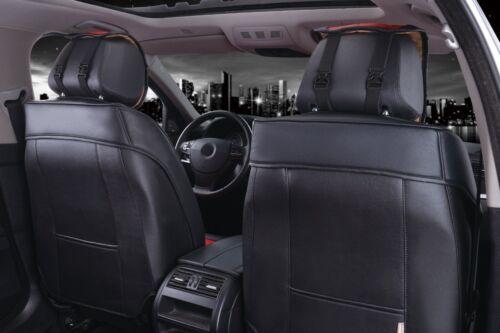 Juego completo de coche referencia fundas para asientos ya referencias ya referencia de piel sintética 1791w