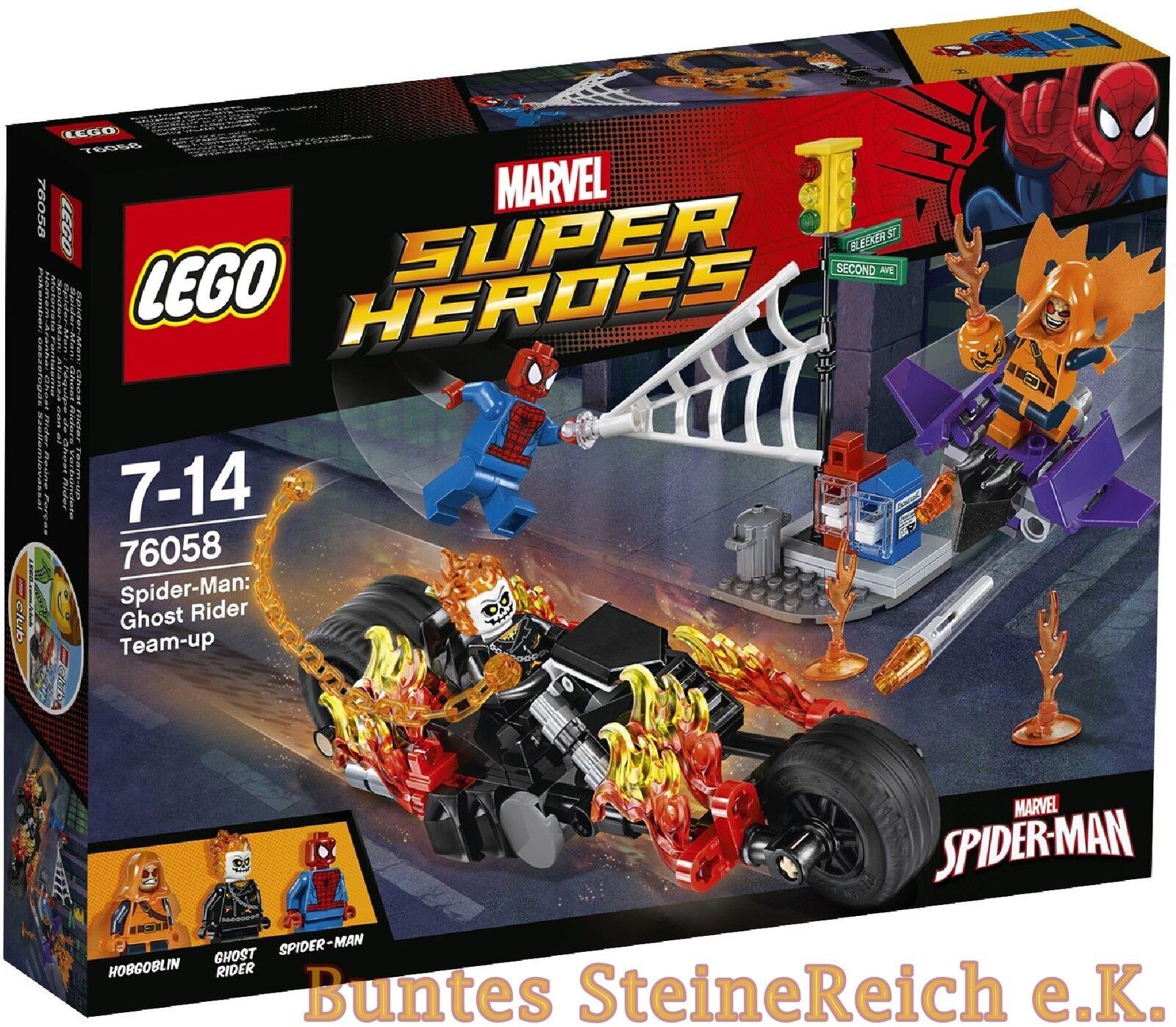 LEGO® Spider-Man  76058 Ghost Riders Verbündete & 0.- Versand & NEU & OVP  | Schöne Kunst