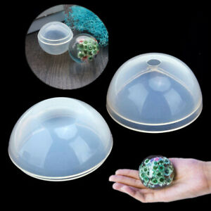Ball-Shape-Crystal-Silicone-Necklace-Pendant-Jewelry-Making-Mold-Resin-Craft-DIY