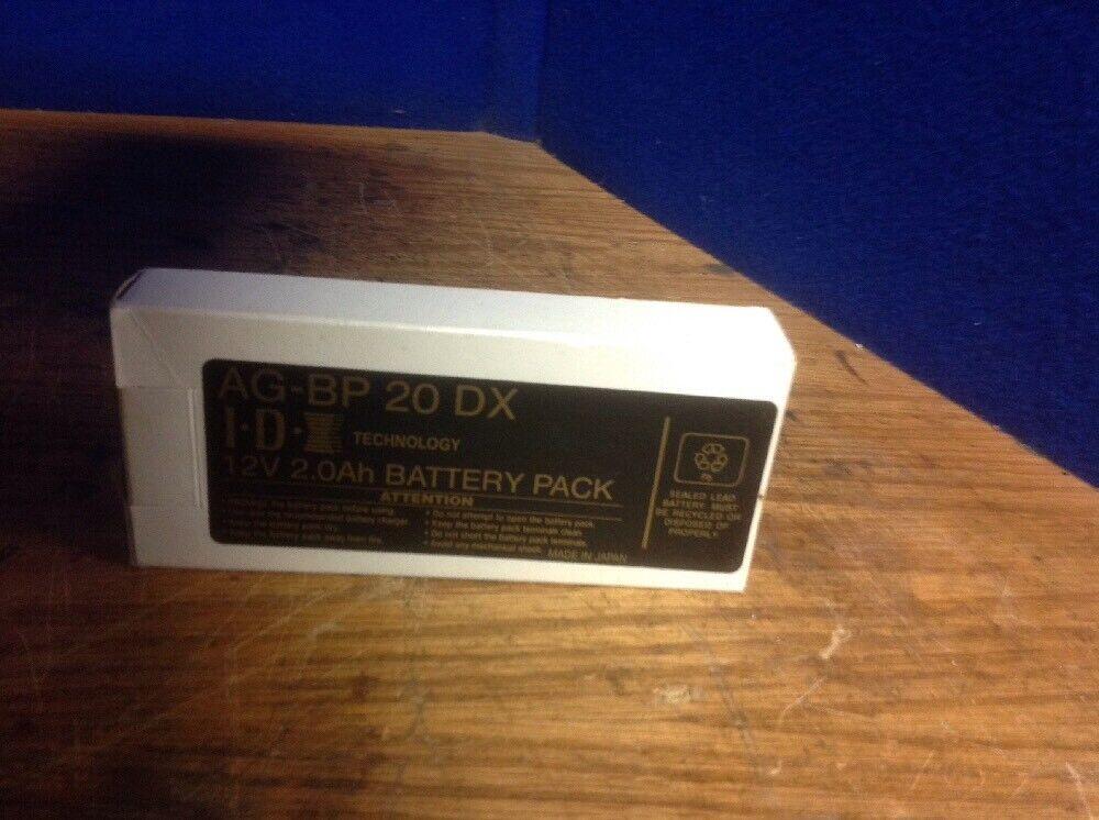 I.D.Technology 12V 2.0Ah Battery Pack AG-BP 20 DX