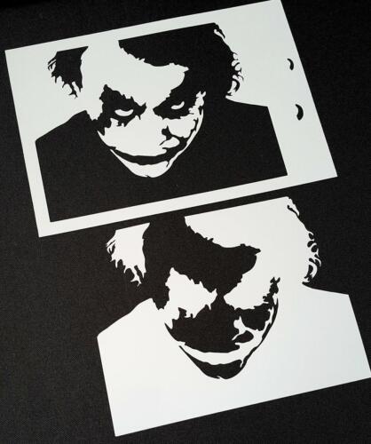 The Joker Face The Dark Knight Airbrush Paint Mylar Reusable Stencil For Artwork