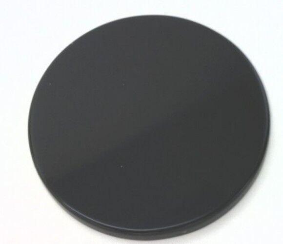 BLACK ONYX 9 x 6 MM PEAR CUT FLAT TOP CABOCHON 8 PIECE SET ALL NATURAL