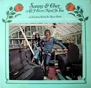 Sonny-and-Cher-All-I-Ever-Need-Is-You-LP-Knap-KS-3660-Stero-1972-Original