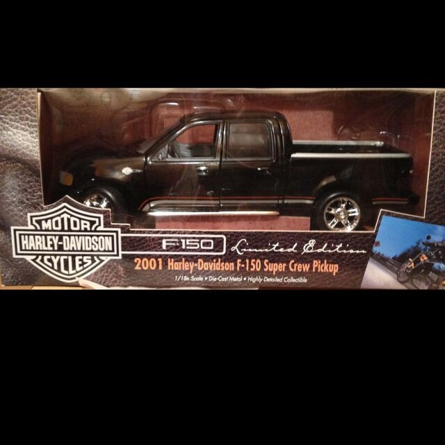 Ertl Parts Car Harley Davidson 2001 Ford F 150 Super Crew Pickup 1