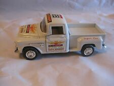 Chevrolet Step Side Pick Up Truck In A White Danger Diecast From ATI       dc176