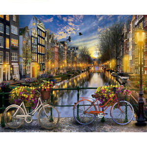 Modern-City-Night-Art-Paint-By-Numbers-DIY-Oil-Painting-Home-Decor