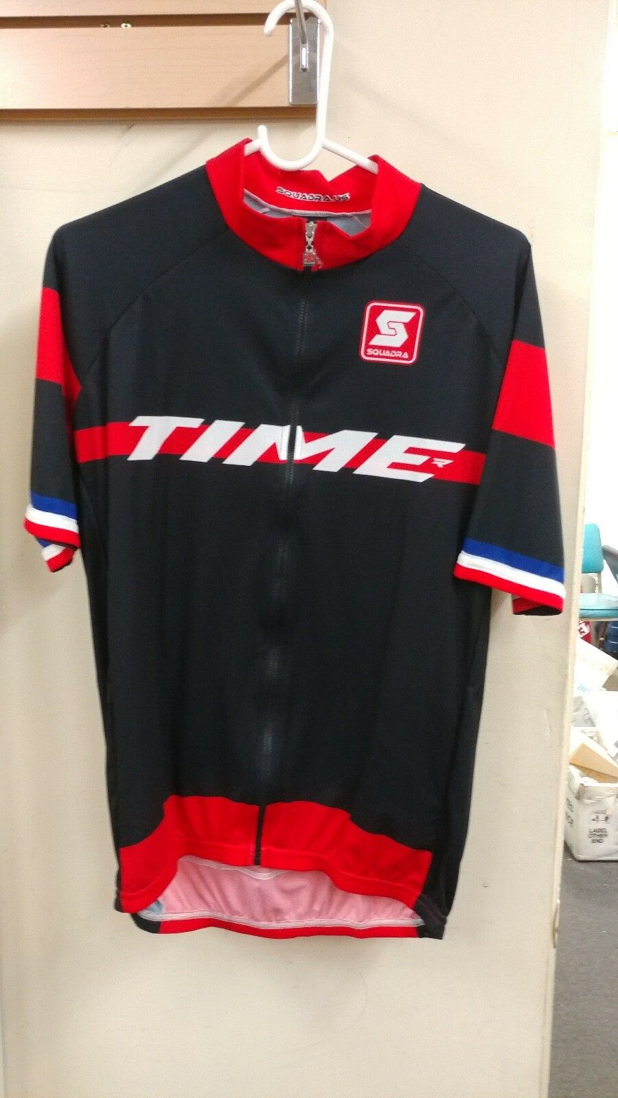 MEN'S TIME SPORT CYCLING JERSEY FULL ZIP NEW WITHOUT TAGS SIZES, MD, LG, XL