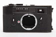 Leica M5 Black Rangefinder Used Camera (12K022)