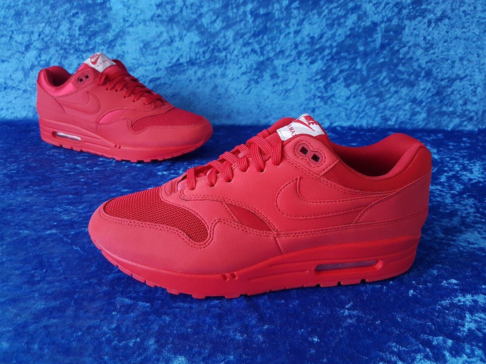 Nike Air Max 1 Tonal Red / 42 / 8.5 us / 7.5 uk / box logo
