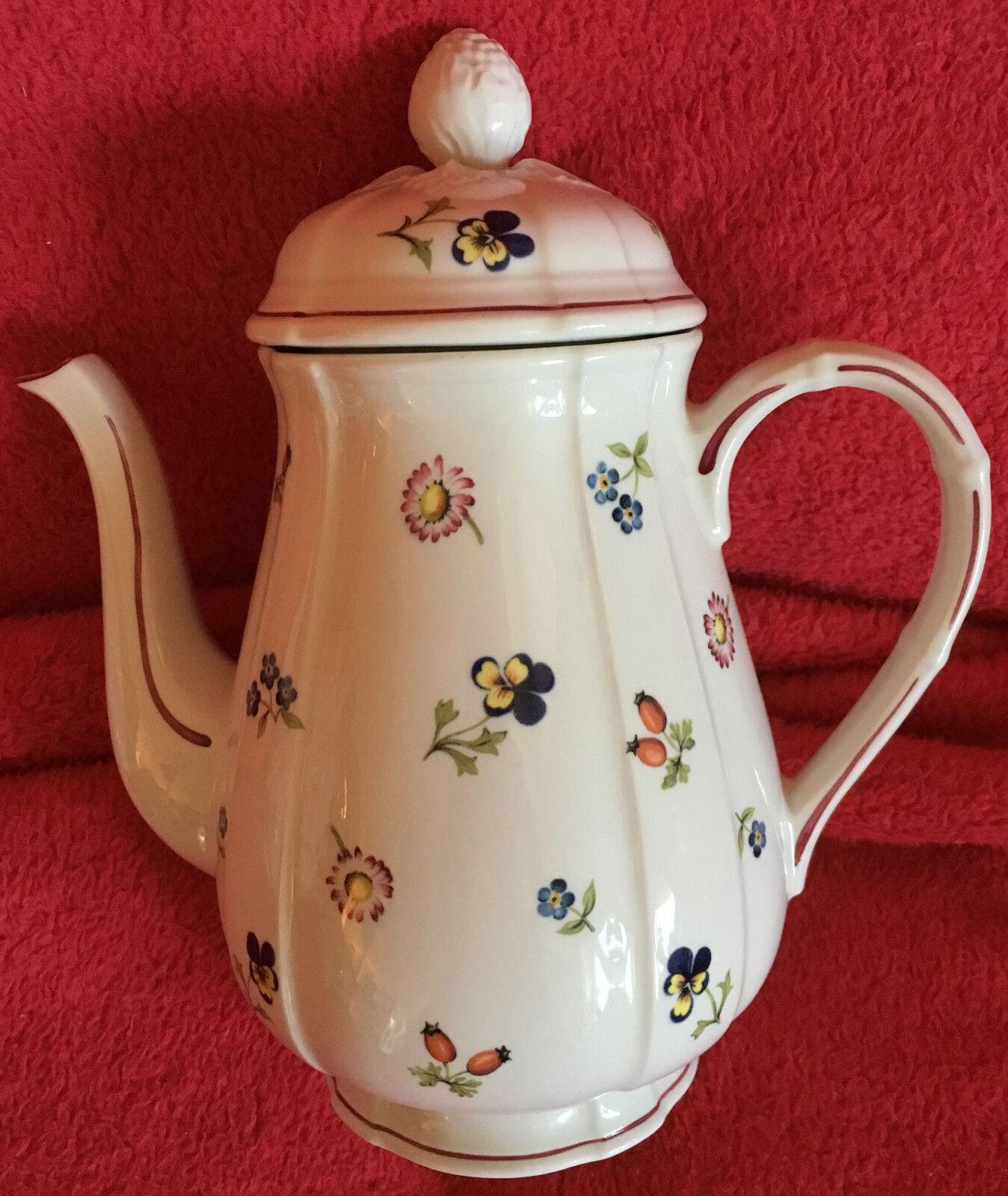 Villeroy & Boch porcelaine petit fleur Cafetière-Top entretenu