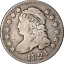 thumbnail 1 - 1821 Bust Dime Large Date Choice VG+ Superb Eye Appeal Strong Strike