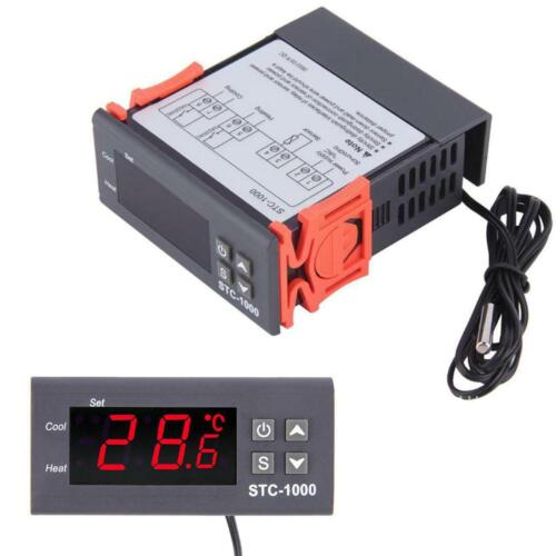 12V//24V//110V//220V STC-1000 Digital Temperature Controller Thermostat w//NTC NEW
