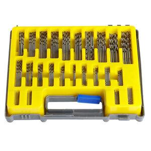 HOT-NEU-150tlg-MINI-Micro-Power-HSS-Bohrer-SET-Twist-Kits-Spiralbohrer-0-4-3-2mm