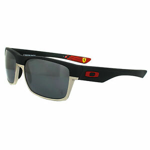 56a189efcb Oakley Scuderia Ferrari Two Face Sunglasses OO9189-20 Matte Iridium - Black